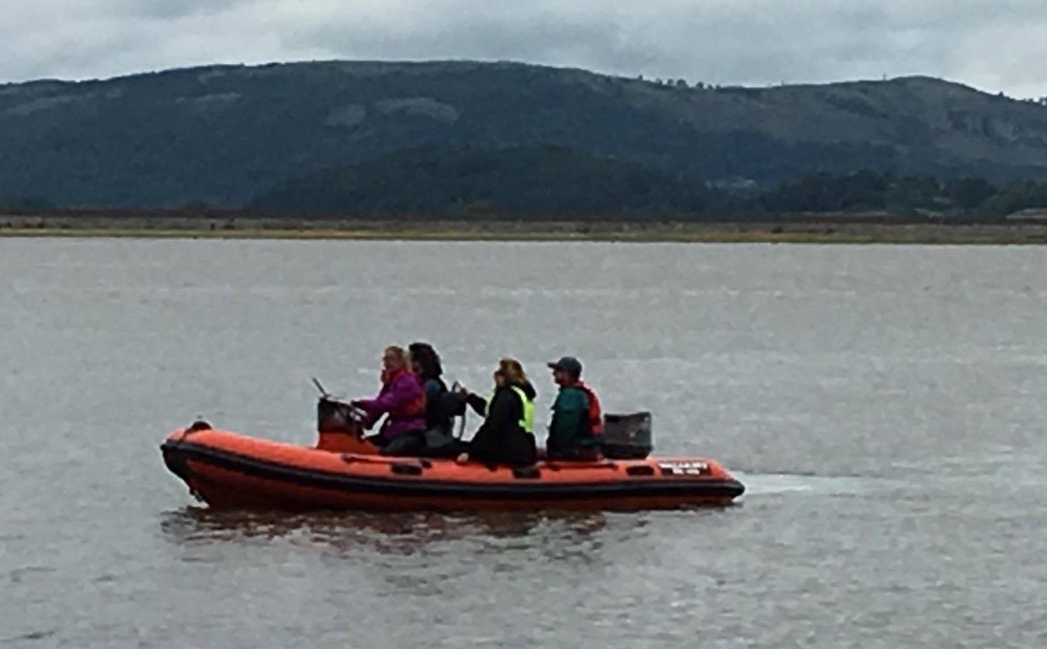 Saftey Boat Crew